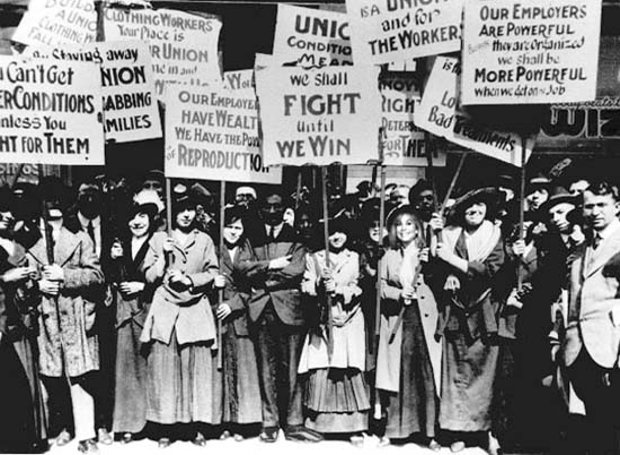 women_strike-new_york-1857