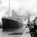 Ο Τιτανικός στο λιμάνι του Σαουθάμπτον, λίγες μέρες πριν αποπλεύσει για το παρθενικό και μοιραίο του ταξίδι.